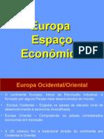 Europa - Espaço economico