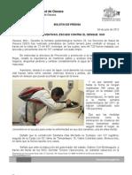 04/07/12 Germán Tenorio Vasconcelos medidas Preventivas, Escudo Contra El Dengue, Sso