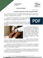 19/07/12 Germán Tenorio Vasconcelos 80% DE LA POBLACIÓN PADECE HONGOS EN LOS PIES, SÁNCHEZ NAVARROdoc