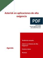 Webminars 2011 Numero 1 Asterisk en Alta Exigencia