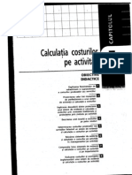 Curs contabilitate Calculatia Costurilor Pe Activitati