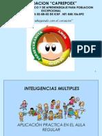2 Memorias Inteligencias Multiples Aplicacion Practica en El A