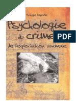 Psychologie Du Crime de l'Exploitation Animale