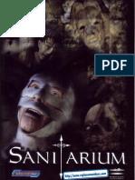 Sanitarium - Manual - PC