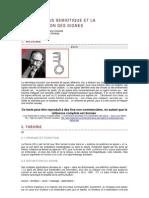 Eco-Le processus sémiotique et la classification des signes