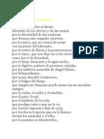Otro Poema de Los Dones