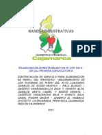 Bases ADS No 009-2012, SistRiegoAltoLlaucano