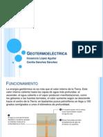 Geotermoeléctrica
