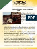 """Inicia el Congreso Internacional """"Lectura y Escritura en la Sociedad Global"""