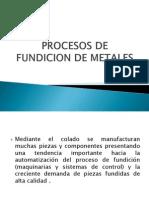Procesos de Fundicion de Metales