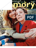Alzheimer's Magazine - Preserving Your Memory - Spring09