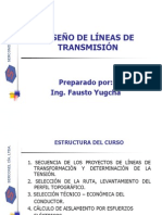 CURSO DISEÑO DE LINEAS DE TRANSMISIÓN