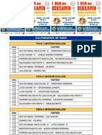 Calendarios de Xogo i Dia Do Benxamin Vigo-Arousa 2012-2013