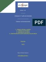 Ch1 Tableaux de données multidimensionnelles