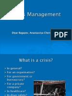 Presentation Crisis Management