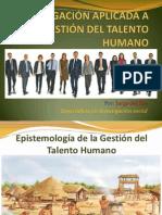 Investigacion Aplicada a La Gestion Del Talento Humano