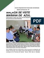 Boletin Conservador 197-Málaga se viste mañana de Azul.
