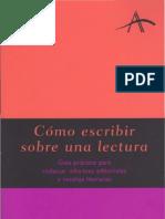Alba, como escribir sobre una lectura.pdf