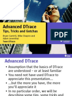 Dtrace Tips