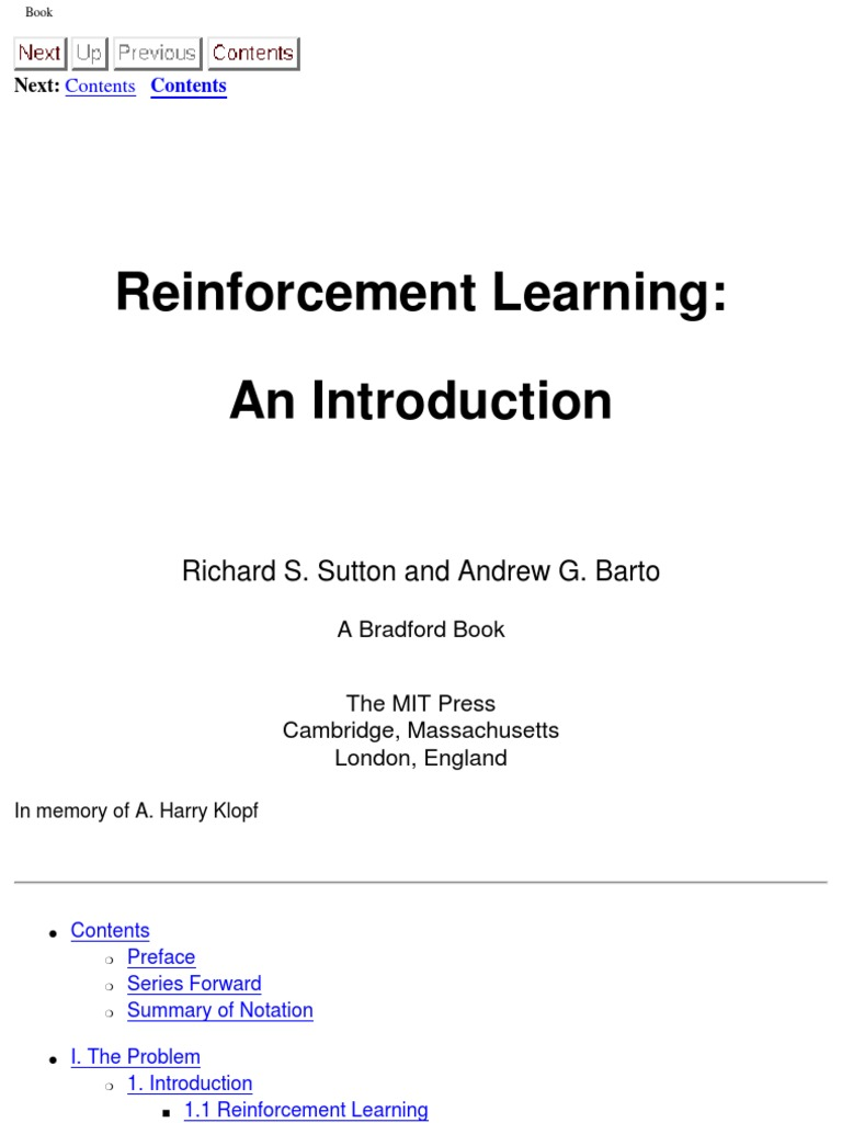 Introduction to reinforcement learning free artificial introduction to reinforcement learning free artificial intelligence technology fandeluxe Images