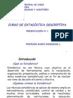 01 Presentacion Conceptos Basicos de Estadistica Descriptiva