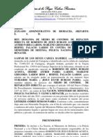 Demanda de Repacion Directa - Familia Burgos Acosta