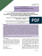 An in Vitro Study Indian Strain of Japanese Encephalitis Virus Infection in Porcine Stable Kidney Cell Using 1h Nmr Spectroscopy