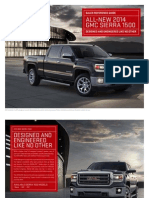 2014 GMC Sierra Brochure Sales Reference Guide
