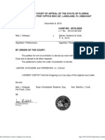2D10-5529, ORDER Dec-09-2010, Petition for Writ DENIED as Moot