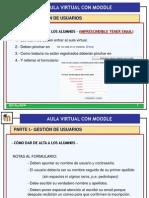 Usuarios Aula VirtualModle