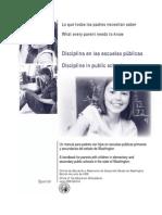 Manual Discipline Public Schools Spanish