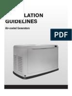 Air Cooled Generators
