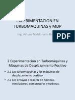 2 Clase Exprimentacion en Turbomaquinas y Mdp