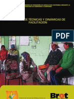 Cartillas de Tecnicas y Dinamicas de Facilitacion