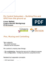 Pin Control Subsystem Overview