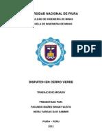 Dispatch en Cerro Verde