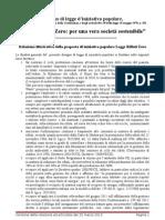 Relazione Legge Rifiuti Zero 25 Marzo 2013