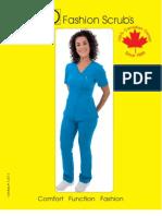 Spring/Summer 2013 PRO Fashion Scrubs Catalog