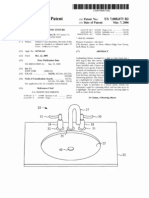 Plumbing and lighting fixture (US patent 7008073)