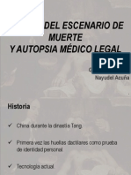 Escenario Muerte y Autopsia ML (Expo)