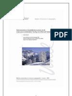 Restructurations et durabilité du tourisme de ski
