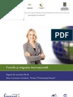 Raport Femeile Migratia Internationala