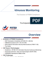 FITSI-DC - Continuous Monitoring