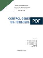 Control Genetico Del Desarrollo!! (2)
