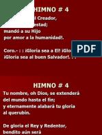 04. Gloria sea a El