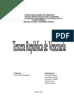 Tercera Republica
