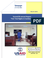 Final Second Fair Trial Report March 2011- English