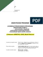 Primer Jednog Uradjenog Biznis (Polsovnog Plana)
