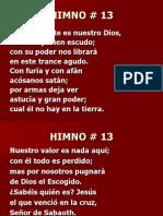 13. Castillo Fuerte Es Nuestro Dios