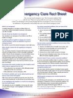 NonVA Emergency Care Fact Sheet